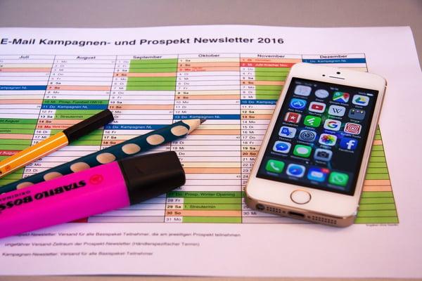 planificación del marketing digital plantilla planilla