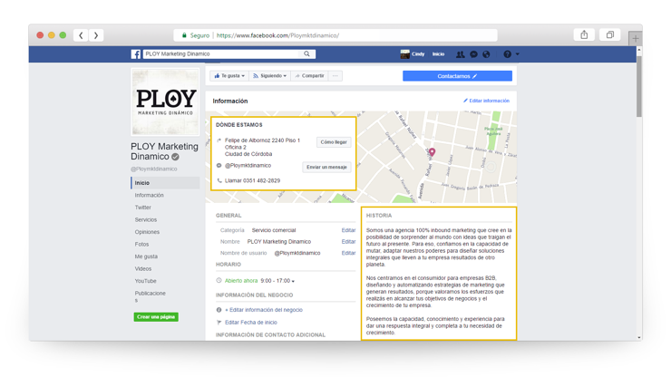Facebook optimizaciones