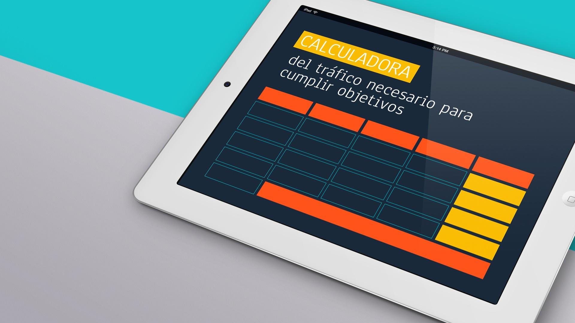 Calculadora de tráfico web para diseñar tu estrategia